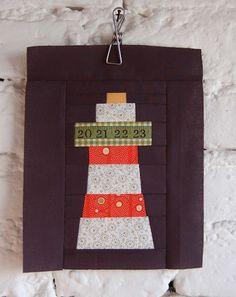 Lighthouse block on lieblingsdecke Quilts