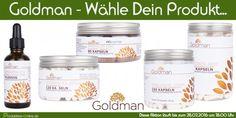 Goldman - Wähle Dein Testprodukt   Produkttest-Online.de