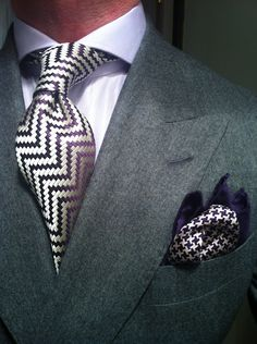 Grey Flannel Suit by Heerlijk fitted by La Couleur Blanche