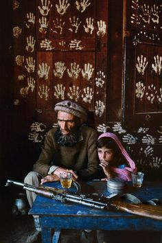 """""""Wall to Wall"""" in #Kamdesh , #Afganistan by #SteveMcCurry"""
