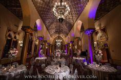 #roomdecor #bocaresort #focusedonforever #uplighting #weddingdecor