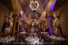 #roomdecor #bocaresort #focusedonforever #uplighting #weddingdecor