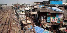 Παλάτια και παράγκες: Ένας πλανήτης… άνισος Μουμπάι, Ινδία Slums, Our World, Times Square, Street View, India, Architecture, Outdoor Decor, Travel, Buildings
