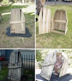 coffin - Halloween decorations