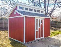 Backyard Office, Cozy Backyard, Backyard Playground, Backyard Landscaping, Backyard Ideas, Shed Cabin, Cabin Plans, Tuff Shed, Boat Shed