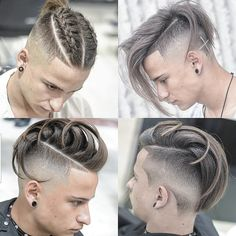 """Discover additional info on """"mens hairstyles Browse through our web site. Undercut Hairstyles, Braided Hairstyles, Cool Hairstyles, Medium Hair Styles, Short Hair Styles, Men Hair Color, Haircut Designs, Hair And Beard Styles, Haircuts For Men"""