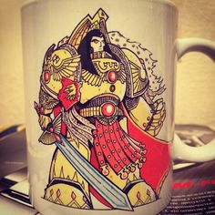 Check out Warhammer40000 The Emperor mug on warhammerstore