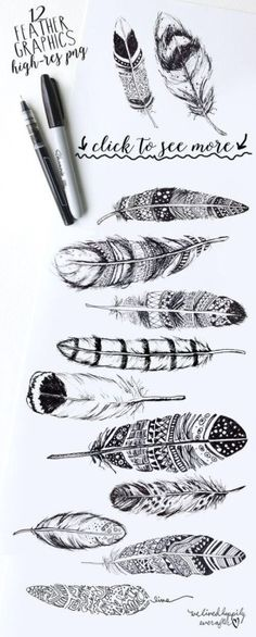 Maybe a feather tattoo...