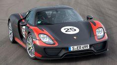 First drive: Porsche 918 Spyder via topgear.com