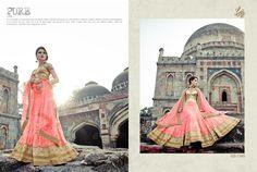 The Princess Elegance Bridal Lehenga & Saree Collection! Lehenga Choli Online, Bridal Lehenga Choli, Lehenga Saree, Sari, Bollywood Bridal, Trend Fabrics, Ethnic Wear Designer, Indian Ethnic Wear, Saree Collection
