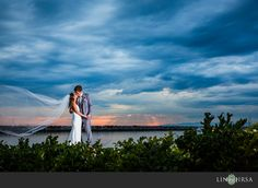 Love this sunset photo with Veil!