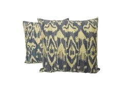 2 Piece Set #Ikat #Kantha #Cushion #Cover #Indian Ikat Print #Home #Decor Cushion Cover | #eBay #Handicrunch