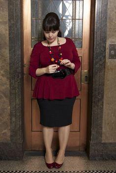 Modest, Feminine dressing for the plus-size woman.