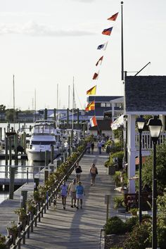 Strolling the Beaufort Docks in Beaufort NC.  I love having lunch at one of the dockside cafes.