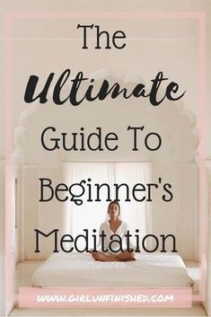 Beginners Meditation: The Ultimate How To Guide Are you new to beginners meditation? Meditation benefits are long and wide. This ultimate guide to beginners meditation will help you get started. Meditation Benefits, Meditation Space, Healing Meditation, Daily Meditation, Meditation Practices, Mindfulness Meditation, Meditation Scripts, Meditation Music, Health Cleanse