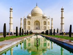 The iconic Taj Mahal, in Agra, India, has been facing years of pollution and erosion that some experts believe could lead to its collapse.