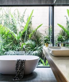 bathroom ideas will help you to enjoy the area around your bathroom remodel and bathroom tile ideas. Find the best bathroom vanity for 2018 and transform your bathroom inspiration space! Read more » #bathroomideas #bathroomremodel #bathroomtile #bathroomvanity #bathroominspiration #plants