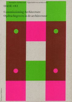 karel martens -- OASE journal (note that format and size change from one issue to the next)