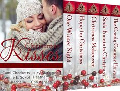 Christmas Kisses Cover Reveal and Giveaway  Christmas Kisses is a collection from five bestselling and award-winning authors. Set in the snowy town of Echo Ridge in upstate New York these inspirational romances are sure to delight while you sip cocoa by the fire and listen to Christmas carols.Pre-order now for only $.
