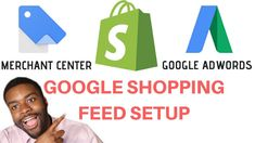 Google Merchant Center & Shopping Feed Tutorial For Shopify Dropshipping (ADWORDS SETUP) - YouTube Youtube Setup, Google Ads, Google Shopping, Get Started, Learning, Money, Things To Sell, Ideas, Thoughts