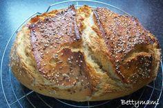 Kovász (élesztő nélkül!) | Betty hobbi konyhája Banana Bread, Ale, Bakery, Food And Drink, Sweets, Desserts, Breads, Pizza, Tailgate Desserts