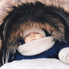 Baby. New York. NYC. Winter. Outfits. Ideas. Baby Clothes. Fur. Cute. Adorable. Children.