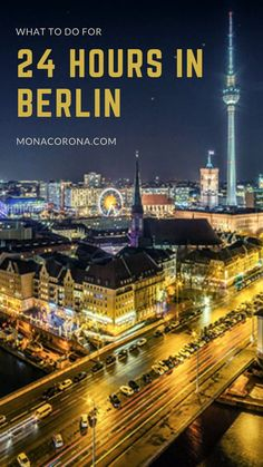 How to see Berlin in 24 hours | Berlin, Germany Europe | Berlin in one day | 1 day Berlin Itineray | Berlin travel guide | Berlin Travel tips | Berlin hotels | berlin restaurants | best things to do in Berlin | Where to go in Berlin | Where to stay in Berlin | Where to eat in Berlin | Berlin wall | Berlin meuseums | Berlin travel guide | Berlin attractions | Berlin nightlife | Berlin nightclubs | Berlin photo spots | What to do in Berlin #berlin #germany #traveltips Visit Germany, Germany Europe, Germany Travel, Berlin Germany, Road Trip Europe, Europe Travel Guide, Travel Destinations, Berlin Hotel, Berlin Berlin