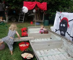 Adventures at home with Mum: Pirate Party Games - Part 2
