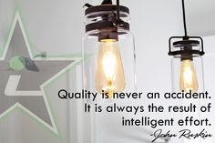 Quality is never an accident. It is always the result of intelligent effort. -John Ruskin  #MotivationMonday #YQR  #ShowHome #CustomHomes #home #design #quality #imagine #creative #original #style #realestate #CustomBuild #trueoriginal #dreamhome #architecture #dreamhomes #interior #YQRbuilds #construction #house #builder #homebuilder #showhome #beautiful #preparation #dream