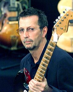 Eric Clapton -the fretboard is worn out from all that playing