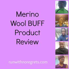 I had the opportunity to try out the Merino Wool Buff! It is so versatile, sweat proof and odor resistant...plus cute! Check out my review and more running tips on runwithnoregrets.com