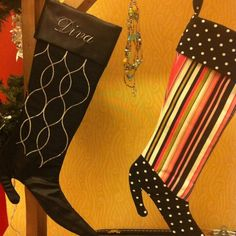 Christmas boots in any fabric