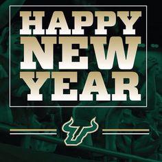 Happy New Year!  #GoBulls - usfathletics's photo on Instagram