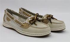 Sperry Top-Sider Women's Angelfish 2-Eye Critters Boat Shoe Ivory 7.5 M US #SperryTopSider #BoatShoes
