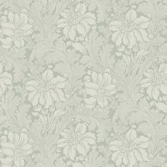 The wallpaper pattern Acanthus from Engblad & Co Acanthus from Arkiv Engblad is a green wallpaper in floral traditional style Interior Wallpaper, Green Wallpaper, Wall Wallpaper, Pattern Wallpaper, Acanthus, Designer Wallpaper, Bellisima, Tapestry