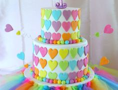 Rainbow First Birthday Cake . Rainbow First Birthday Cake Rainbow First Birthday Cake Inspired Wild Orchid Baking Company Rainbow First Birthday, First Birthday Cakes, Birthday Cake Girls, Birthday Parties, 1 Year Old Birthday Cake, Heart Birthday Cake, Colorful Birthday Cake, Birthday Ideas, 31 Birthday