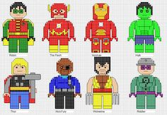 Minifigure Cross Stitch 4