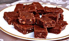 Toblerone Fudge - so easy and delicious!