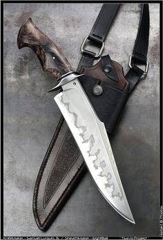 It's time again to kick off our annual Bowie festival here on the forums, so. Swords And Daggers, Knives And Swords, Bowie Messer, Beil, Forged Knife, Damascus Knife, Cool Knives, Unique Knives, Best Pocket Knife