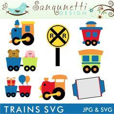 Train SVG