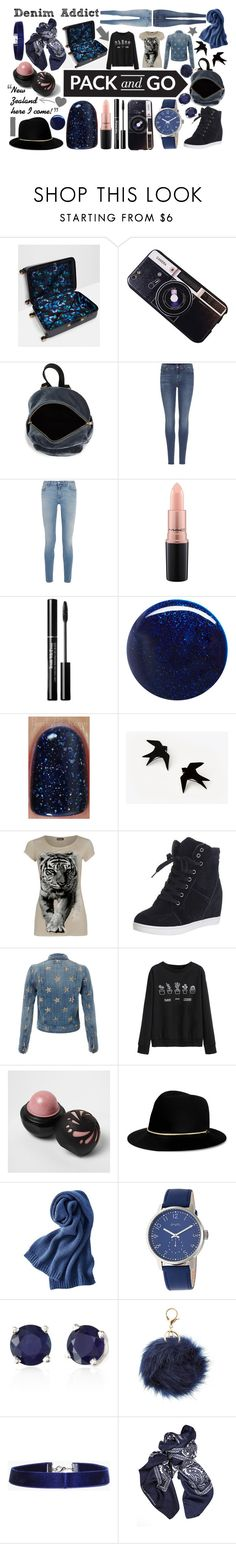 """""""New Zealand"""" by rainbowfashionunicorn ❤ liked on Polyvore featuring Ted Baker, Chicnova Fashion, BP., 7 For All Mankind, Givenchy, MAC Cosmetics, RGB, WearAll, Current/Elliott and WithChic"""