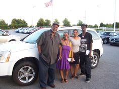 Robert and Takeysha from Wilson NC are here at Cox Dodge with all smiles about grabbing this wonderful 2007 Chevrolet Equinox. Thank you Robert and Takeysha for your business. Their sales person is Felicia Gray