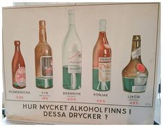 Funny vintage school chart!   Check out this item in my Etsy shop https://www.etsy.com/se-en/listing/488716293/vintage-school-chart-with-alcohol