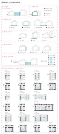 Modular Housing System 2011 Thesis Project (MSc) by Dóra Máthé, via Behance