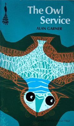 The Owl Service by Alan Garner, 1968     I can't immediately find out who the cover illustration is by - but to me it's classic late-60s design