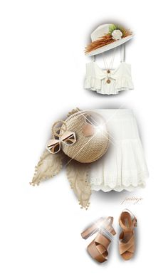 Easy and Breezy by rockreborn on Polyvore featuring Stone_Cold_Fox, Misa, Bee Charming, Sydney Evan, Gigi Burris Millinery, Miu Miu, Cara and Michael Kors