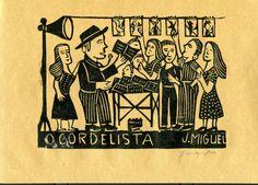 Le cordeliste, sur les marchés, déclame ses textes et vend ses cordels.