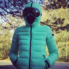 Ready for winter! Ai Riders On The Storm jacket green for woman #airidersfan
