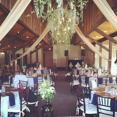 Charleston, SC Wedding Catering | Reception Ready | B. Gourmet Catering | www.bgourmetcatering.com | Venue: Magnolia Plantation's Carriage House | Rentals: EventWorks | Decor + Flowers: WildFlowers Inc.