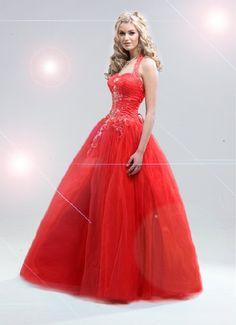 princess prom dresses in red Denver Weddings | Big Fashion Show princess prom dresses